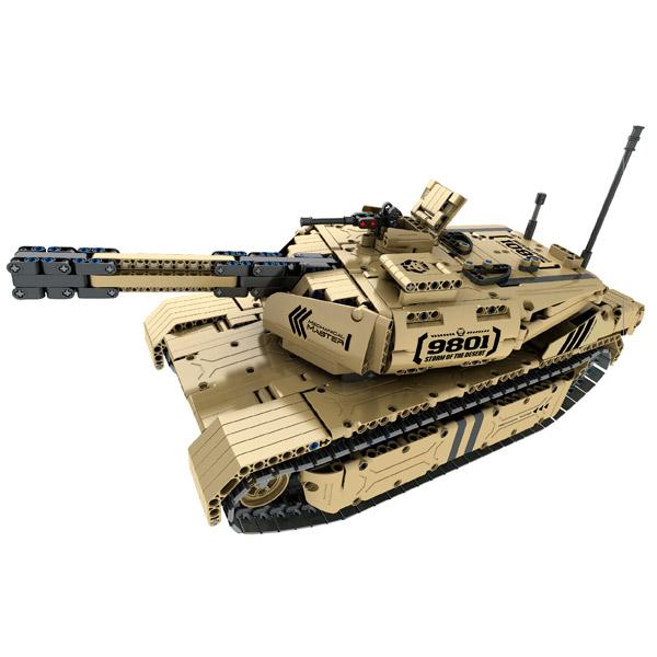 Радиоуправляемая модель-конструктор QiHui Airsoft Tank, 1276 эл.