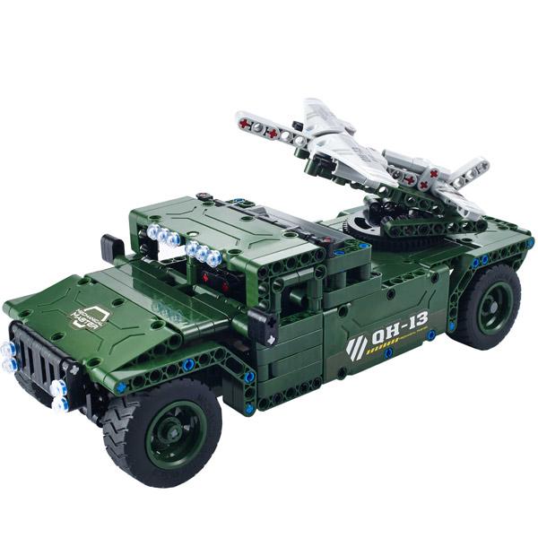 Радиоуправляемая модель-конструктор QiHui UAV Carrier, 506 эл.