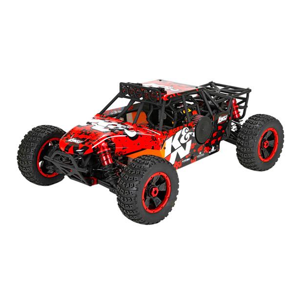 Радиоуправляемая машина Losi Багги 1/5 4x4 - Desert Buggy XL K&H Бензин RTR радиоуправляемый багги 1 5 losi desert buggy xl e brushless 4wd 2 4 ghz электро черно желтый