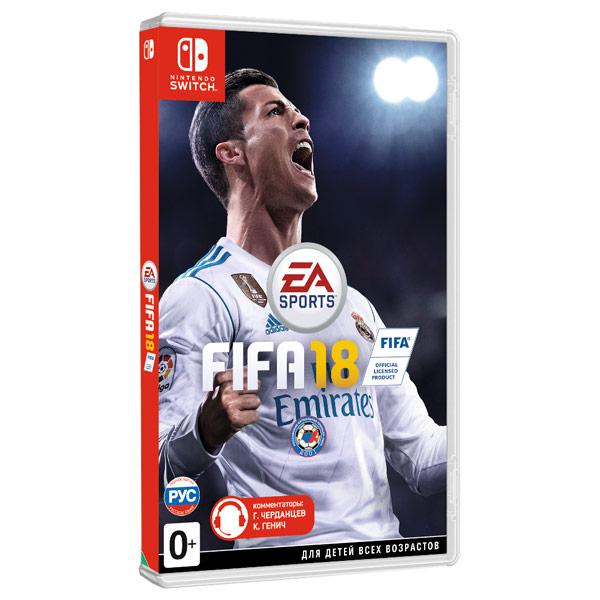 все цены на  Игра для Nintendo FIFA 18  онлайн