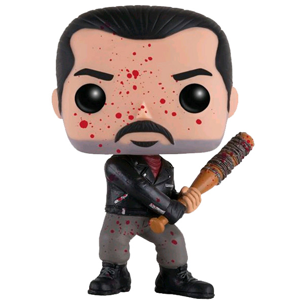 Фигурка Funko POP! Television: The Walking Dead: Negan Bloody набор фигурок the walking dead 4 в 1 8 см