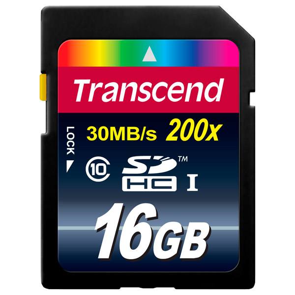 Карта памяти SDHC TranscendКарты памяти SDHC<br>Интерфейс шины данных: UHS-I Class 1,<br>Цвет: черный,<br>Выдвижной язычок защиты: Да,<br>Класс: 10,<br>Вид гарантии: по чеку,<br>Назначение: проф. фото/видео Full HD,<br>Объем карты памяти: 16 ГБ,<br>Серия: 200х,<br>Макс. скорость передачи данных: 30 Мб/сек,<br>Тип карты памяти: SDHC,<br>Страна: Тайвань<br><br>Цвет : черный