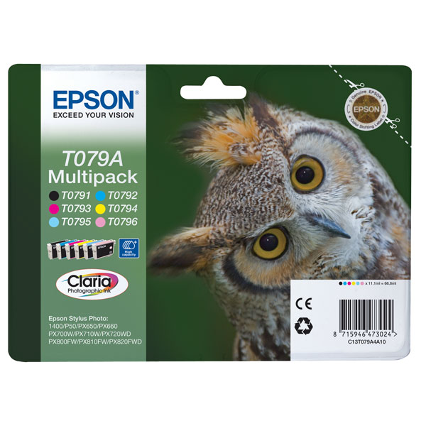 Картридж для струйного принтера Epson Т079А (С13T079A4A10)