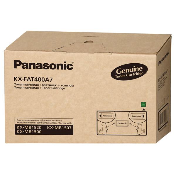 Картридж для лазерного принтера Panasonic KX-FAT400A7 тонер картридж panasonic kx fat400a для kx mb1500 1520ru 1 800 стр kx fat400a7