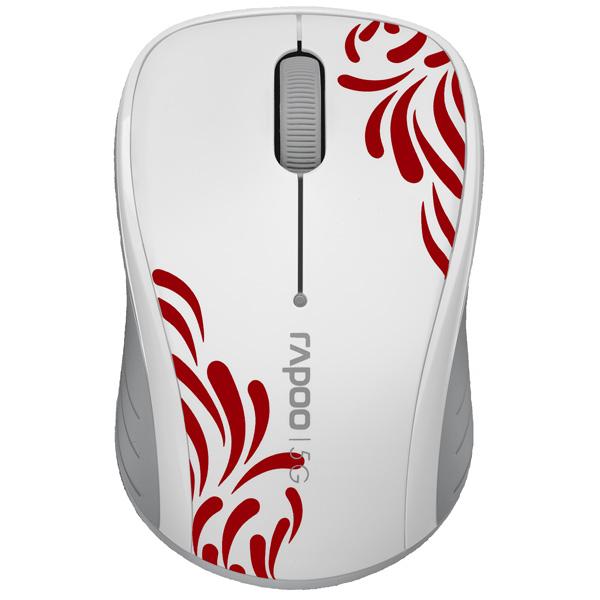 Мышь беспроводная Rapoo 3100 White