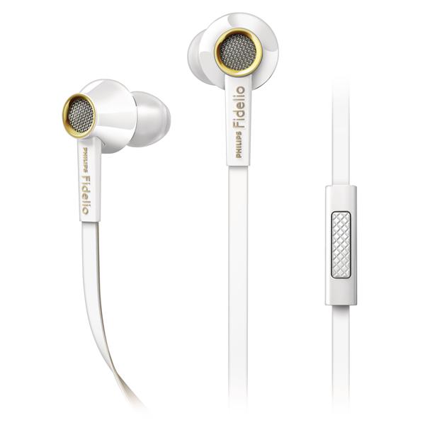 где купить  Наушники внутриканальные Philips Fidelio S2 White (S2WT/00)  дешево