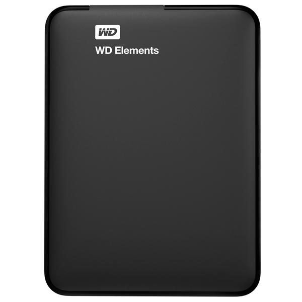 Внешний жесткий диск 2.5″ WD Elements Portable 1TB (WDBUZG0010BBK-EESN)