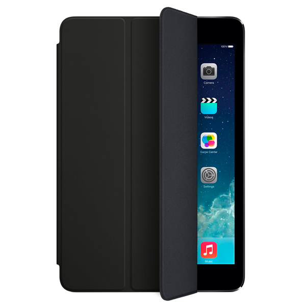 Кейс для iPad mini Apple mini Smart Cover Black (MF059ZM/A)