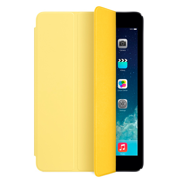 Кейс для iPad mini Apple mini Smart Cover Yellow (MF063ZM/A)