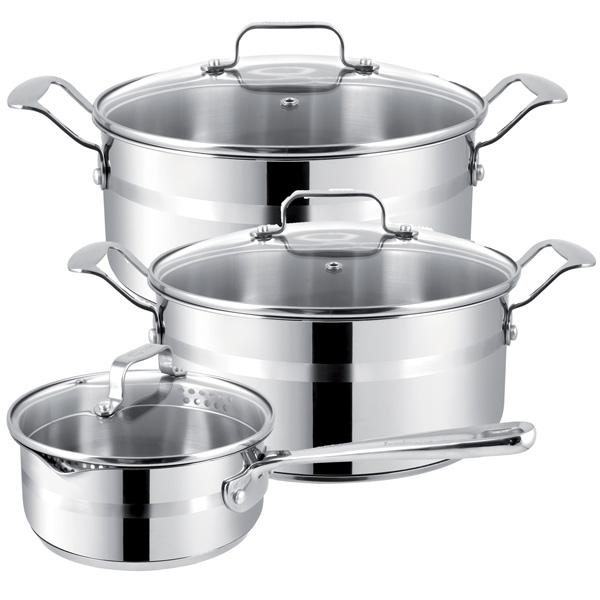Набор посуды (Jamie Oliver) Tefal E874S574  набор кастрюль tefal e874s574