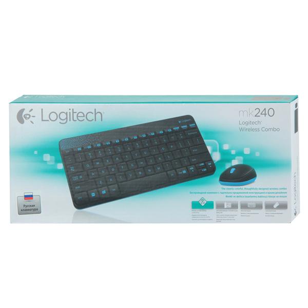 Комплект клавиатура+мышь Logitech