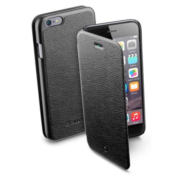 Кейс для iPhone Cellular LineКейсы к iPhone<br>Материал корпуса: экокожа,<br>Кейс для смартфона: iPhone 6/6S,<br>Вес: 45 г,<br>Страна: КНР,<br>Отв. для встр. камеры: Да,<br>Тип корпуса: книжка,<br>Вид гарантии: по чеку,<br>Цвет: черный,<br>Отверстие для подзарядки: Да<br><br>Вес г: 45<br>Цвет : черный