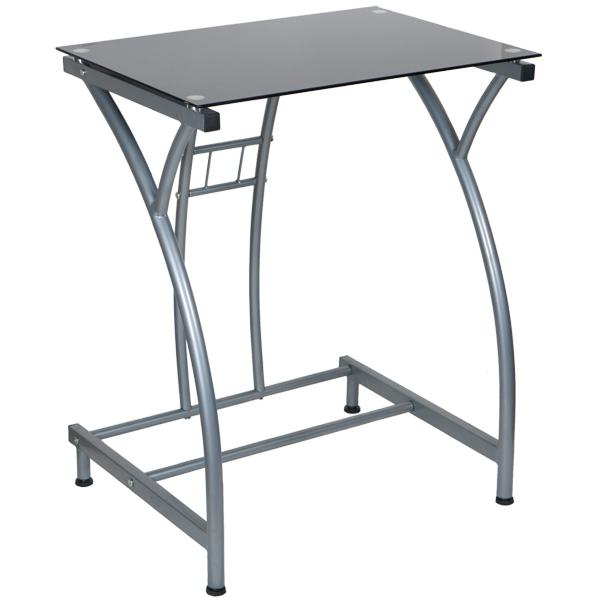 Стол компьютерный Бюрократ GD-002/BLACK