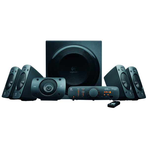 logitech z150 snow white 980 000815 колонки Колонки компьютерные 5.1 Logitech Surround Sound Z906 (980-000468)