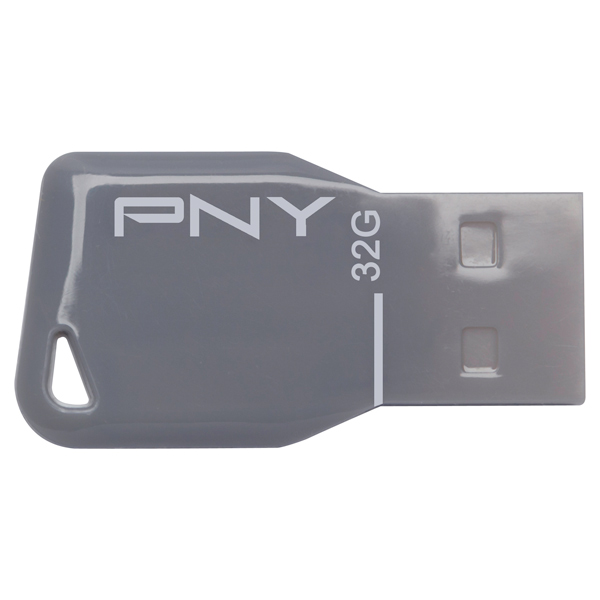 Флэш диск PNY KEY ATTACHE GREY 32GB
