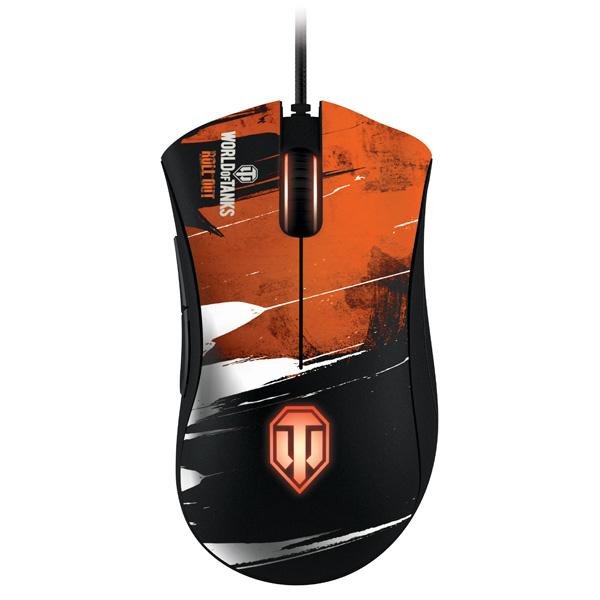 Игровая мышь Razer DeathAdder 2013,World of Tanks (RZ0100840400R3R1)
