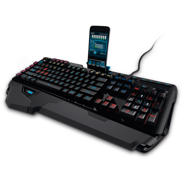 Игровая клавиатура Logitech