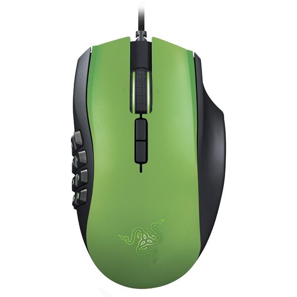 Игровая мышь Razer Naga 2014 Green LE (RZ01-01040300-R3M1)