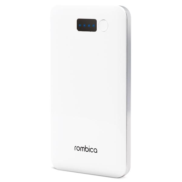 Внешний аккумулятор Rombica Neo NP50С White 5000 mAh бесплатная доставка usb зарядки зарядка для док порт разъем разъем запасная часть для lg optimus 3d p920