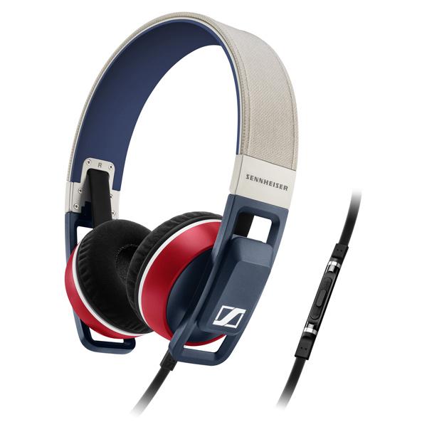 Наушники накладные SennheiserНаушники накладные<br>Кабель аудио 3.5 мм - 3.5 мм: в комплекте,<br>Управление воспроизведением: Да,<br>Длина кабеля: 1.2 м,<br>Материал оголовника: пластик/ ткань,<br>Регулировка громкости: Да,<br>Тип подключения: проводной,<br>Вид гарантии: по чеку,<br>Чехол для хранения: Да,<br>Материал амбюшур: ткань,<br>Материал корпуса: пластик,<br>Вес: 260 г,<br>Исп. в качестве гарнитуры: Да,<br>Цвет: красный/синий/бежевый,<br>Микрофон с шумоподавлением: Да,<br>Складной оголовник: Да,<br>Штекер 3.5 мм: 1,<br>Серия: URBANITE,<br>Чувствительность: 118 дБ<br>