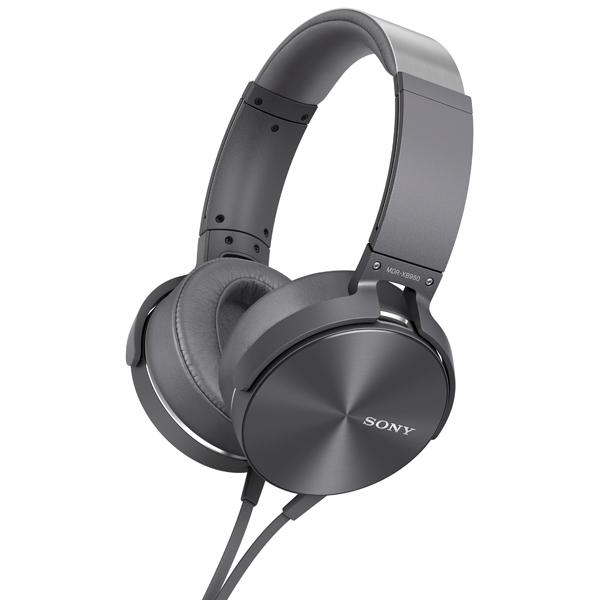 Наушники полноразмерные Sony MDR-XB950AP Gray