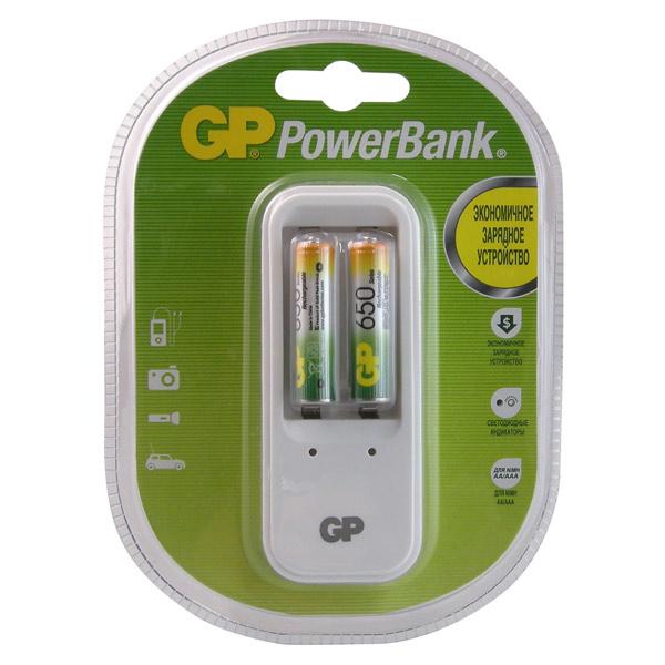 Зарядное устройство + аккумуляторы GP