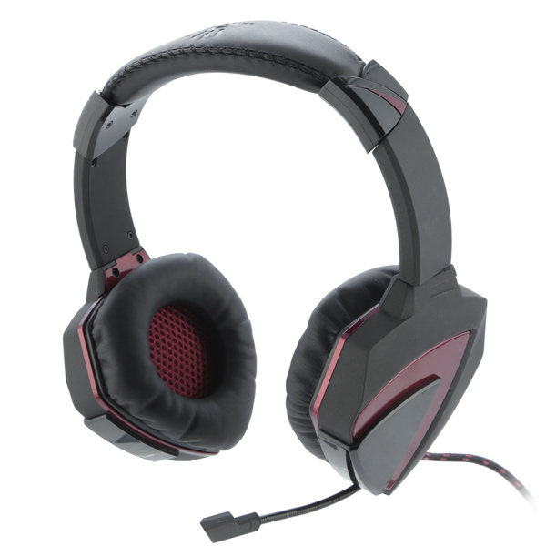 Игровые наушники A4Tech Bloody G501 Radar 4D Black + Red
