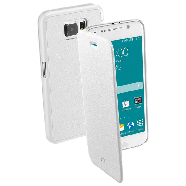 Чехол для сотового телефона Cellular Line для Samsung Galaxy S6 White (BOOKESSENGALS6W)