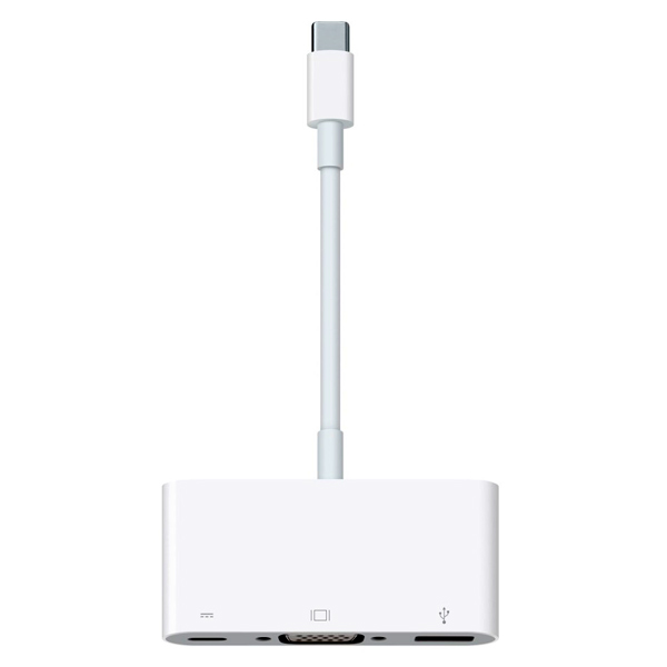 Переходник Apple USB-C VGA Multiport Adapter (MJ1L2ZM/A) адаптер apple mj1l2zm a multiport adapter usb c to vga белый
