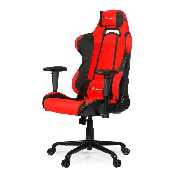 Кресло компьютерное игровое Arozzi Torretta Red отзывы. Читать отзывы