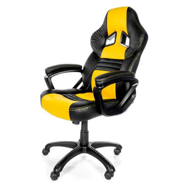 Отзывы о Кресло компьютерное игровое Arozzi Monza Yellow