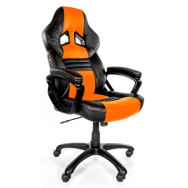 Кресло компьютерное игровое Arozzi Monza Orange