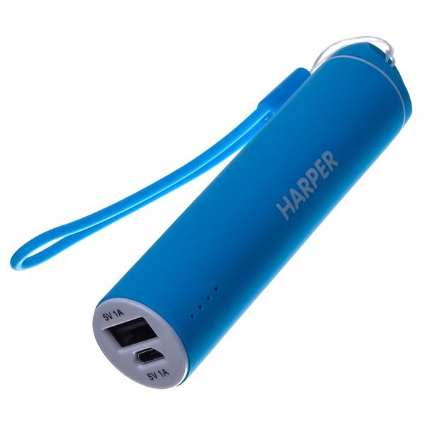 Внешний аккумулятор Harper PB-2602 Blue 2200 mAh