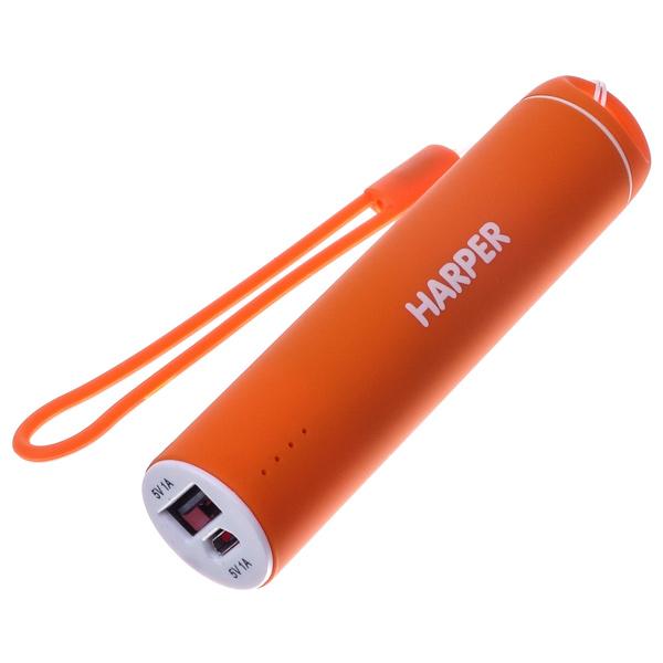 Внешний аккумулятор Harper PB-2602 Orange 2200 mAh