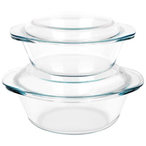 Форма для выпекания (стекло) Supra SHG-0224Кit