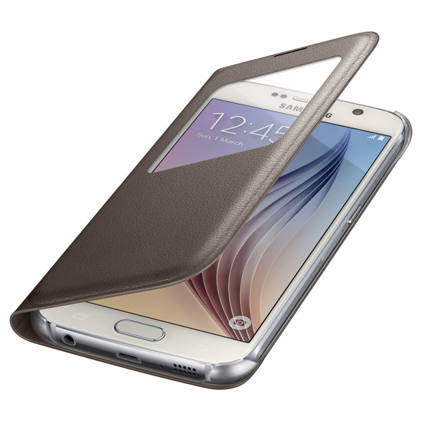 Samsung S View Cover S6 Gold (EF-CG920PFE)
