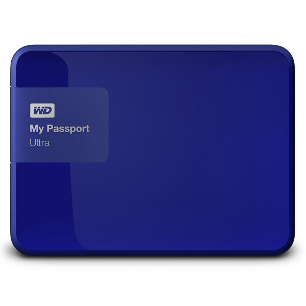 Внешний жесткий диск 2.5″ WD My Passport Ultra 3TB (WDBNFV0030BBL-EEUE)