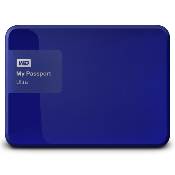 WD My Passport Ultra 1TB (WDBDDE0010BBL-EEUE)