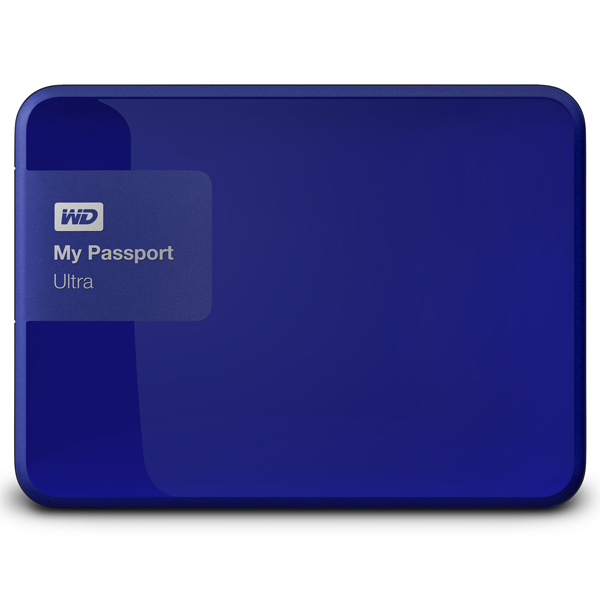 Внешний жесткий диск 2.5″ WD My Passport Ultra 500GB (WDBBRL5000ABL-EEUE)