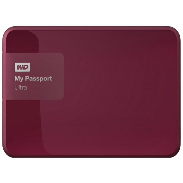 WD My Passport Ultra 1TB (WDBDDE0010BBY-EEUE)