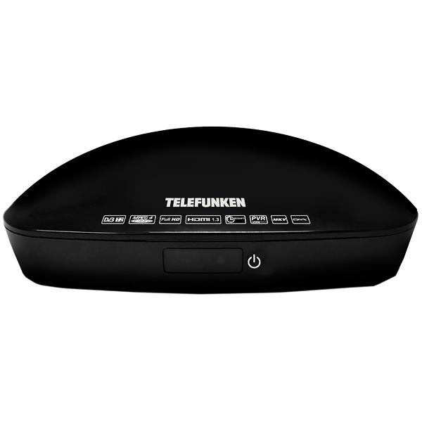 Приемник телевизионный DVB-T2 Telefunken TF-DVBT208