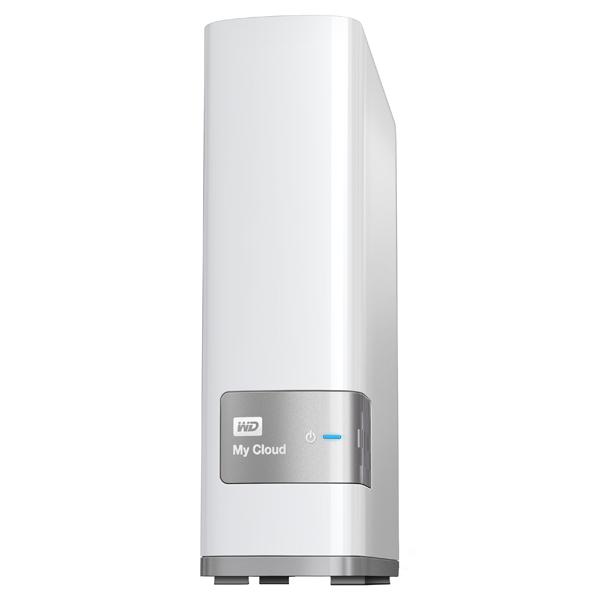Внешний жесткий диск 3.5″ WD My Cloud 4TB (WDBCTL0040HWT-EESN)