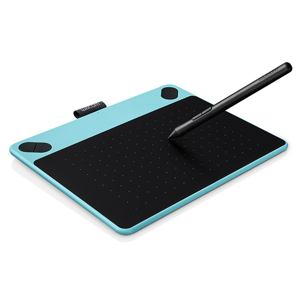 Купить Планшет Wacom Intuos Comic Pen&Touch Small Blue (CTH-490CB-N) недорого