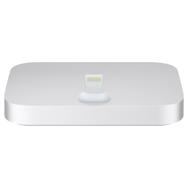 Док-станция для телефона Apple iPhone Lightning Dock Space Silver док станция apple для iphone 5c белый