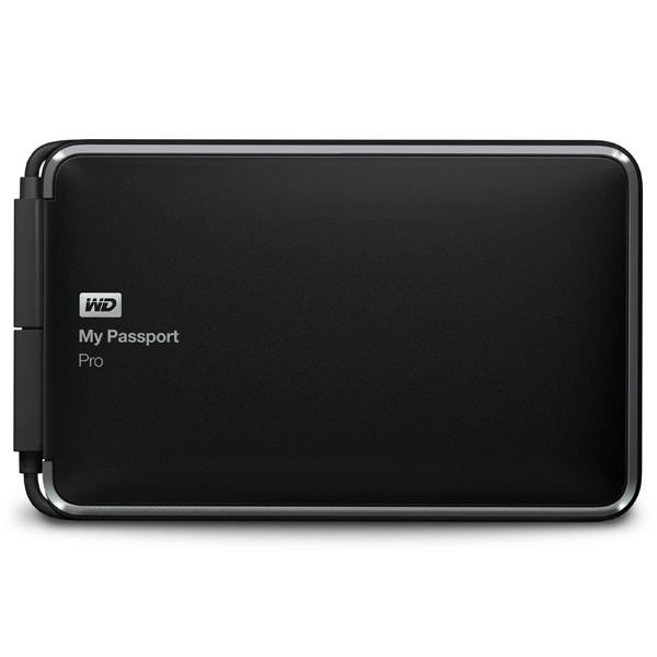 WD My Passport Pro 2TB Thunderb.(WDBRMP0020DBK-EESN)