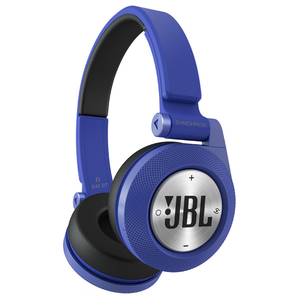 Наушники Bluetooth JBL Synchros E40BT Blue (E40BTBLU)
