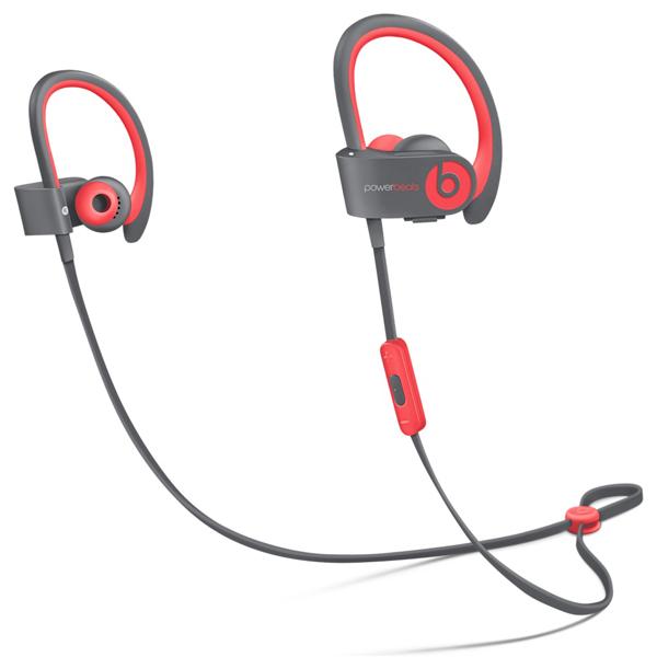 Спортивные наушники Bluetooth BeatsСпортивные наушники Bluetooth<br>Акустический тип: открытый,<br>Сопротивление: 30 Ом,<br>Тип кабеля в комплекте 1: USB тип A/ microUSB,<br>Встроенный микрофон: 1,<br>Материал корпуса: пластик,<br>Серия: Powerbeats 2 Wireless,<br>Страна: КНР,<br>Гарантия: 1 год,<br>Вес: 310 г,<br>Брызгозащитный корпус: Да,<br>Чувствительность: 115 дБ,<br>Амбюшуры: в комплекте,<br>Работа от аккумулятора: до 6 часов,<br>Амбюшур в комплекте: 4 пары,<br>Исп. в качестве гарнитуры: Да,<br>Управление воспроизведением: Да,<br>Дальность (в помещении): до 10 метров,<br>Цвет: красный/серый<br>