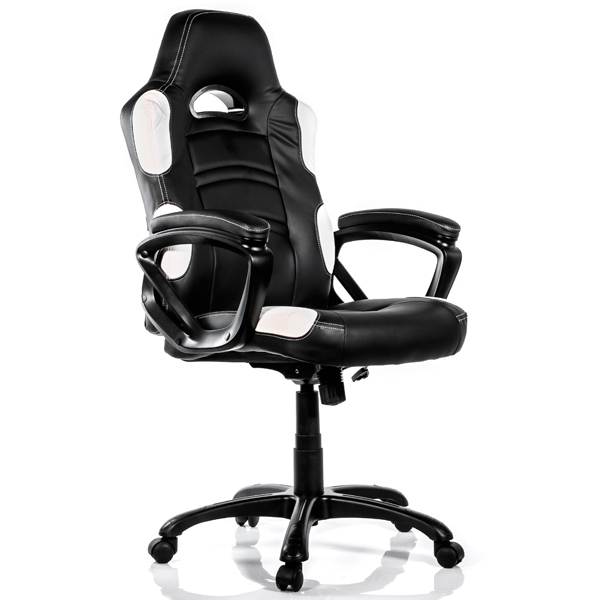 Кресло компьютерное игровое Arozzi Enzo White