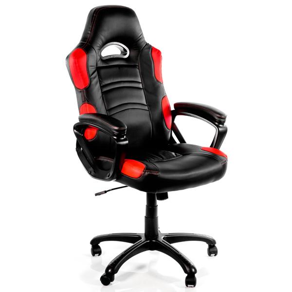 Кресло компьютерное игровое Arozzi Enzo Red