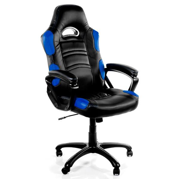 Кресло компьютерное игровое Arozzi Enzo Blue